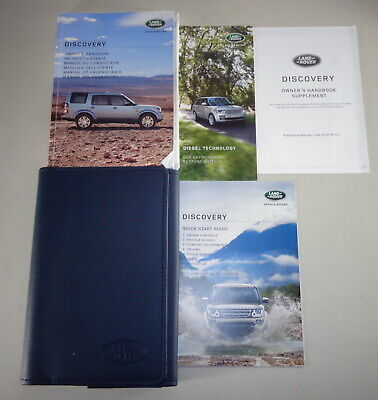 LAND ROVER DISCOVERY PACK SPORT LETTERATURA PROPRIETARIO MANUALE MANUALE /& Wallet