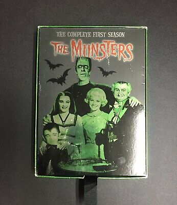 The MUNSTERS The Complete First Season (3 Disc Set) Classic Pre Owned