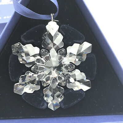 Swarovski 2008 Annual Edition Christmas Ornament Snowflake Chrystal in Box