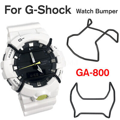 Black Stainless Steel Protector Wire Guard Watch Bumper For G-Shock GA-800