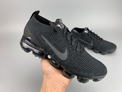 Nike Air VaporMax Flyknit 3.0 2019 Mens Running Shoes Sneaker Trainers Black