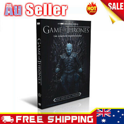 2019 Game Of Thrones DVD Box Sets The Complete Season Brand New Sealed AU Seller