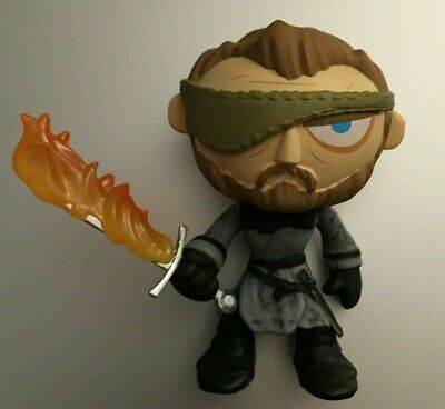 Mystery Mini Game of Thrones Series 4 BERIC DONDARRION FLAMING SWORD 1/36 Chase
