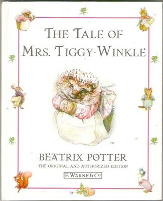 Beatrix Potter THE TALE OF MRS TIGGY WINKLE hardback 1998 Classic Collectable