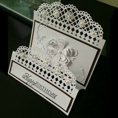 Nice Envelope Lace Metal Cutting Dies DIY Scrapbook Cards Album Art Photo Decor