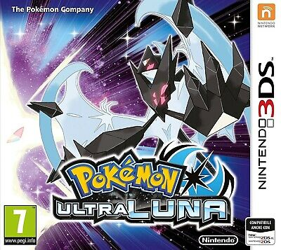 Gioco Nintendo 3Ds Pokemon Ultra Luna Nuovo Originale Italiano