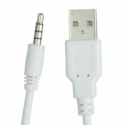 Perfect USB TO 3.5MM JACK Charger Data Sync Cable Lead for iPod Shuffle 1st-5th