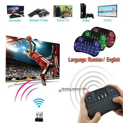 Wireless Mini Bluetooth Keyboards Air Mouse Keypad Remote Control Android TV Box