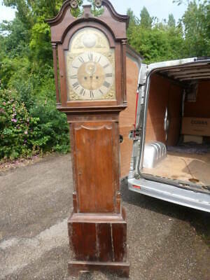 Booth of Skipton 8 day longcase clock needs tidying up but works