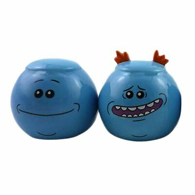 Rick and Morty Mr Meeseeks Salt and Pepper Shaker Set - Boxed Cruet Set