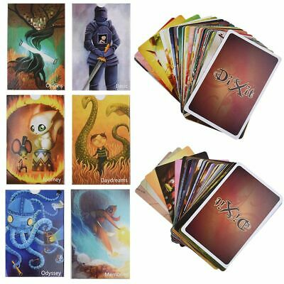 Dixit English Rules Board Game Deck 1+2+3+4+5+6+7 For Home Party Cards DIXIT Set