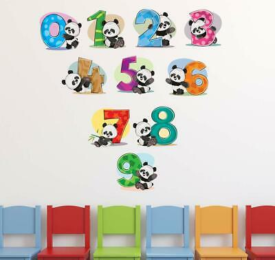 3XLovely Panda Vinyl Art Quote Wall Sticker Home Wall Decals Switch Decor PipTO