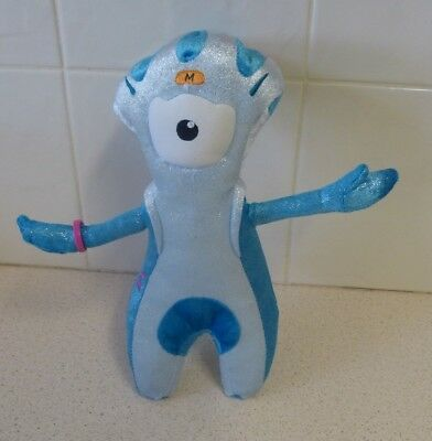 """London 2012 Official Paralympic Games Mascot """"Mandeville"""" - Golden Bear Products"""