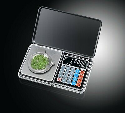 1kg 500g/0.01g Digital Pocket Scale for Precision Weighing Counting Calculation