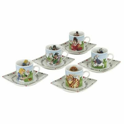 Alice in wonderland 85ml Collectionneurs Thé Fête Cup And Saucer Ensemble -