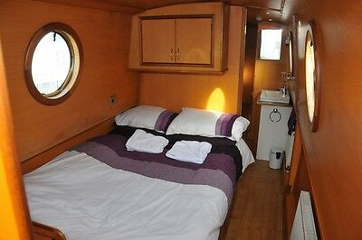 Luxury Canal Boat holiday for 6 dates in July to August