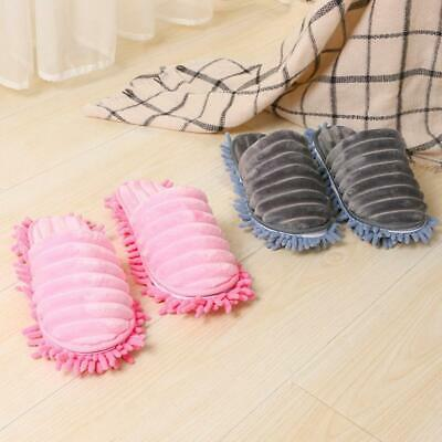 NEW 1 pair Mop Slippers Lazy Floor Foot Sock Shoes Quick Polishing Cleaning Dust