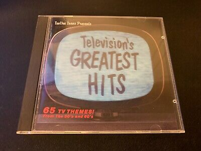 Television's Greatest Hits Vol 1 EARLY Japan TV THEMES (CD, Oct-1990, TVT)