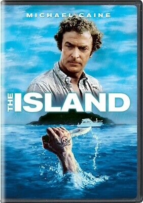 THE ISLAND New Sealed DVD 1980 Michael Caine Peter Benchley