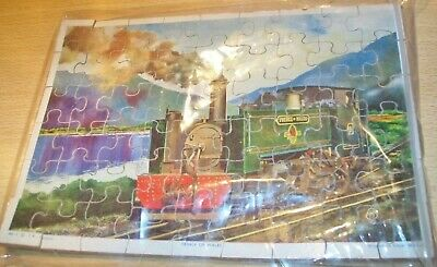 Vintage Wooden TRAIN / RAIL Jigsaw Puzzle 'PRINCE OF WALES' by F.R. London OLD