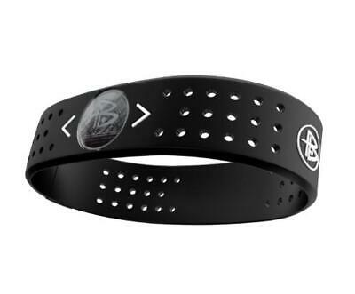 (TG. M) Power Balance, Polsiera in silicone Evolution, Nero (black), M - NUOVO