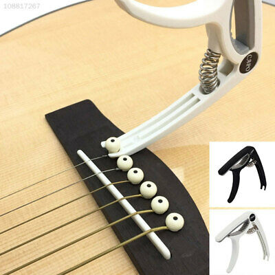 0390 Plastic Steel Guitar Capo Ukelele Pocket Household Tuning Clamp Gifts Home