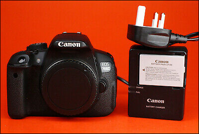 Canon EOS 700D Digital SLR Camera - Sold With Battery & Charger