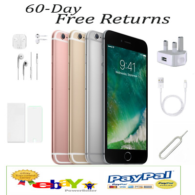 NEW SEALED Apple iPhone 6S 16GB 64GB 4G LTE UNLOCKED GREY ROSE GOLD SILVER UK