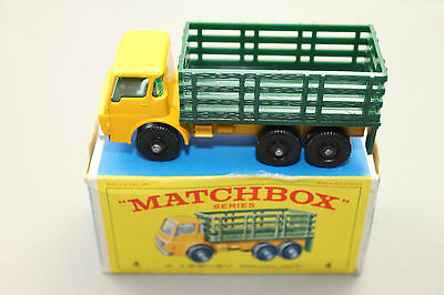 Matchbox Lesney Stake Truck No.4 in OVP