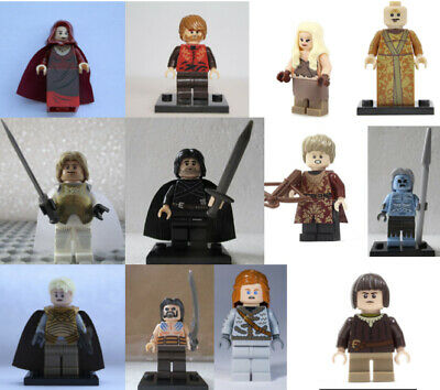 Game of Thrones - Le Trône de Fer - Figurines compatibles Lego