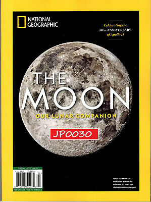 National Geographic 2019, The Moon, Our Lunar Companion, New/Sealed