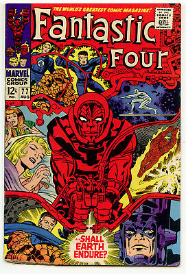 JERRY WEIST ESTATE: FANTASTIC FOUR #77 (Marvel 1968) VG condition NO RES