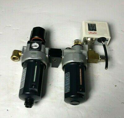 Danfoss Three Point Air Conditioning, Filter Regulator, And Pressure Regulator