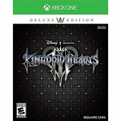 Xbox One Disney Kingdom Hearts Iii Deluxe Edition Brand New Factory Sealed