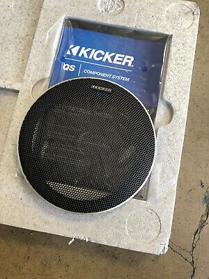 """Kicker Q-Class QSS65 6.5"""" Component Speaker System Grill Only"""