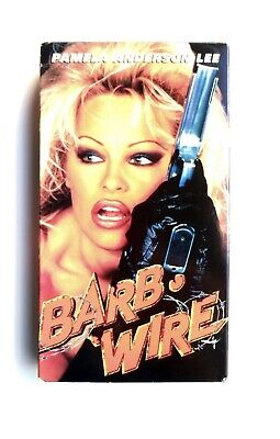 BARB WIRE VHS Movie Film Tape Pamela Anderson Action Bad
