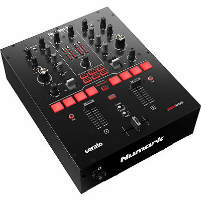 Numark Scratch 2-Channel Scratch Mixer for Serato DJ Pro w/ DVS Expansion Pack