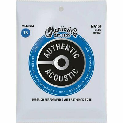 Martin MA150 Superior Performance SP 80/20 Acoustic strings Medium 13-56