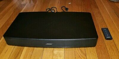 WORKING! Bose (410376) Solo TV Sound System - Black - With Remote
