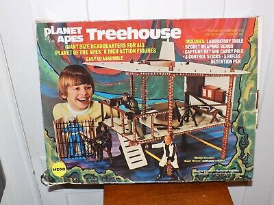 Mego Planet of the Apes Treehouse Box Only w/ Instruction sheet 1974