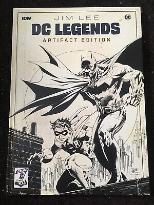 Jim Lee Dc Legends Artifacts Edition Cbldf Exclusive Variant Signed 001/100 Rare