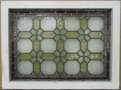 Midsize Old English Leaded Stained Glass Window