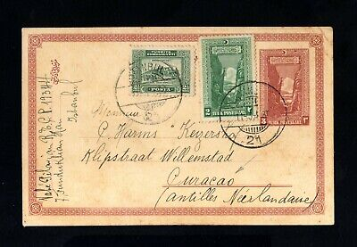 1830-TURKEY-OLD POSTCARD INSTANBUL to CURAÇAO (netherland indies) 1930.Turquie