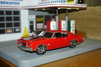 1970 Chevrolet SS 454 Chevelle, Cowl Induction, 1:43, O Scale, Matchbox Malibu