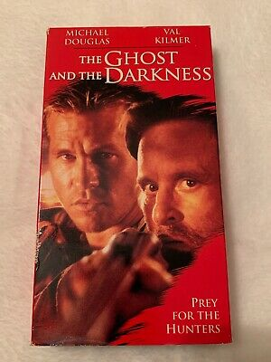 The Ghost and the Darkness (VHS, 1997) Val Kilmer, Michael Douglas