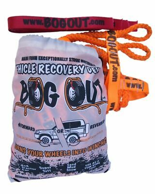 """NEW BOG OUT 4WD Recovery Gear 4x4 TWIN KIT """"Turns Wheels to a Winch"""""""