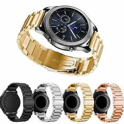 For Samsung Gear S3 Frontier/Classic Metal Stainless Steel Band Watch Bracelet