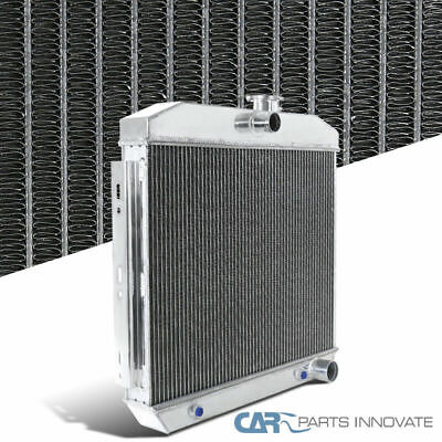 55-57 Bel Air Nomad One Fifity Two Ten Del Ray 3 Row Aluminum Cooling Radiator