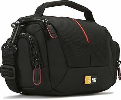 Case Logic DCB305 Compact Camcorder Kit Bag with Interior Dividers and Side S...