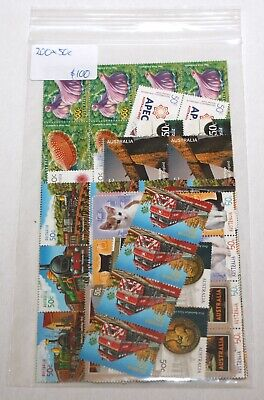 Discount Australian Postage Stamps - 200 X 50c stamps - Face Value $100